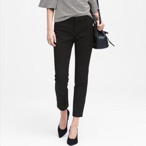 Banana Republic Black Sloan Trouser Pants